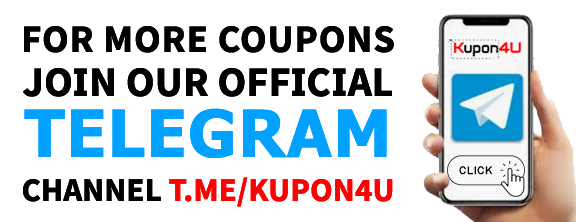 Kupon4U.com Telegram Channel