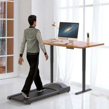 [EU DIRECT - EU] ACGAM Electric Standing Desk Frame Workstation, Ergonomic Height Adjustable Desk Base Black (Frame Only)