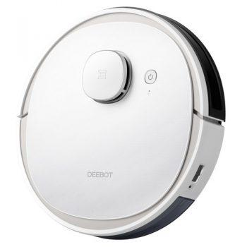 [EU DIRECT - CZ] ECOVACS Deebot N3 Max Laser Robot Vacuum Cleaner with Mop APP Control Home Cleaning Sweeping Machine Voice Control Support Alexa Google EU Version - White