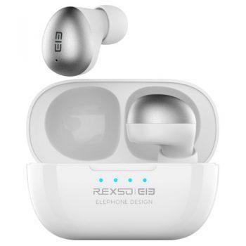 [EU DIRECT - DE] Elephone Elepods S TWS Bluetooth 5.0 Earphone Noise Cancelling Mic Low Latency Gaming Earbus -White