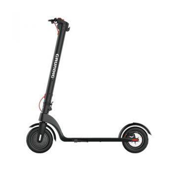 [EU DIRECT - EU] GRUNDIG X7 Electric Folding Scooter 6.4Ah Battery 350W Motor Max Speed 25km/h Aluminum Body 10 Inch Pneumatic Tire 3 Speed Modes - Black