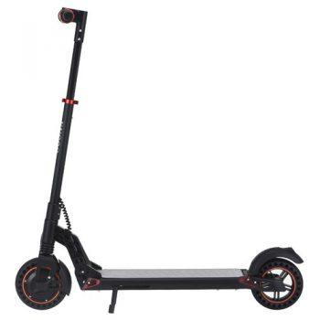 [EU DIRECT - PL]  KUGOO S1 Plus 8 inch Folding Electric Scooter 350W Motor 7.5Ah Clear LCD Display Screen Max 30km/h 3 Speed Modes Max Range up to 25km Easy Folding - Black