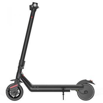 [EU DIRECT - EU] Kukudel 856P Electric Folding Scooter 10Ah Battery 350W Motor Max Speed 25km/h Rear Light Aluminum Body 8.5 Inch Solid Honeycomb Tire - Black