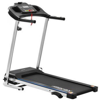 [EU DIRECT - DE] Merax Folding Electric Treadmill Indoor Exercise Training 500W Motor Speed Up To 12km/h 12 Automatic Programs 3 Incline Levels LCD Display - Black