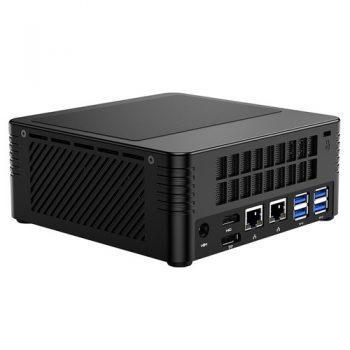 Minisforum EliteMini X400 AMD Ryzen3 Pro 4350G Mini PC 8GB DDR4/256GB SSD Radeon Graphics Windows 10 Pro Wifi 6 Gigabit LAN Bluetooth 5.1 HDMI 2.0