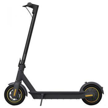 Ninebot KickScooter MAX G30 G30P ?Portable Folding Electric Scooter 350W Motor Max Speed 30km/h 15.3Ah Battery - Black
