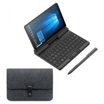 One Netbook A1 360 Degree 2 in 1 Pocket Laptop Intel M3-8100Y 8GB RAM 512GB PCIe SSD + Stylus Pen + Protective Case