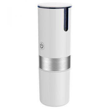 Portable K-cup Capsule Coffee Machine USB Automatic Travel Coffee Maker - White