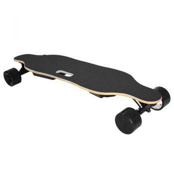 [EU DIRECT - EU] REDPAWZ SYL-06 Electric Skateboard Dual 350W Motors 4000mAh Battery Max Speed 35km/h With Remote Control - Black