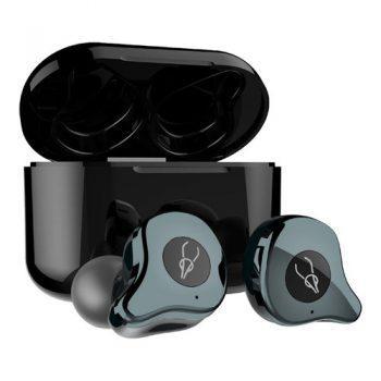 [EU DIRECT - DE] Sabbat E12 Ultra Qualcomm QCC3020 CVC8.0 TWS Earbuds QI Wireless Charging Independent Use aptX/AAC/SBC Siri Google Assistant IPX5 - Gunmetal