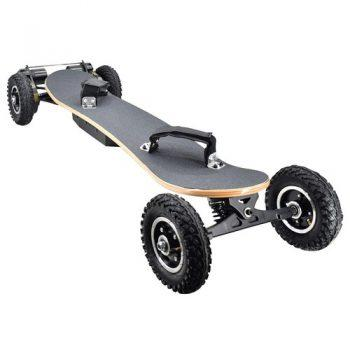 [EU DIRECT - EU] SYL-08 V3 Version Electric Off Road Skateboard With Remote Control 1450W Motor up to 38km/h 10Ah Battery Maple Plank Max load 130kg - Black