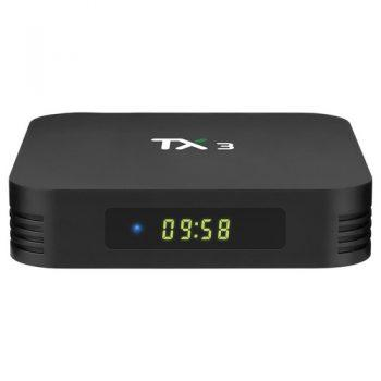 [EU DIRECT - ES] TANIX TX3 ALICE UX 4GB/64GB Amlogic S905x3 8K Video Decode Android 9.0 TV Box Bluetooth 2.4G+5.8G WiFi LAN USB3.0 Youtube Netflix Google Play
