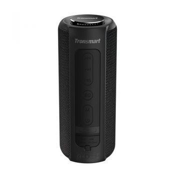 [EU WAREHOUSE - ES] Tronsmart Element T6 Plus Portable Bluetooth 5.0 Speaker with 40W Max Output, Deep Bass, IPX6 Waterproof, TWS - Black