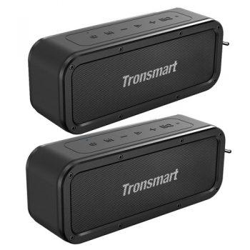 [EU WAREHOUSE - CZ] Tronsmart Force SoundPulse™ 40W Bluetooth Speaker IPX7 Water Resistant Siri TWS & NFC 15 Hours Playtime