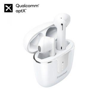 [EU WAREHOUSE - DE] Tronsmart Onyx Ace Bluetooth 5.0 TWS Earphones 4 Microphones Qualcomm QCC3020 Independent Usage aptX/AAC/SBC 24H Playtime Siri Google Assistant IPX5 - White
