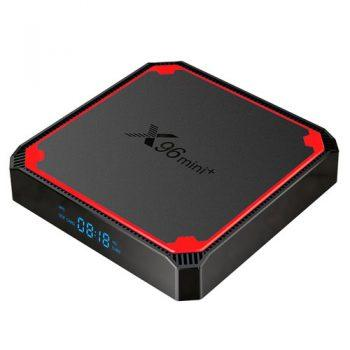 X96 MINI+ TV BOX Android 9.0 Amlogic S905W4 2GB/16GB 4K TV Box 2.4G+5G WIFI LAN
