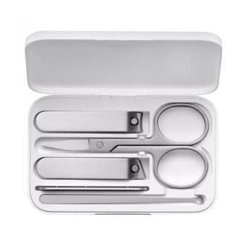 Xiaomi Mijia Portable 5PCS Stainless Steel Nail Clippers Set - White