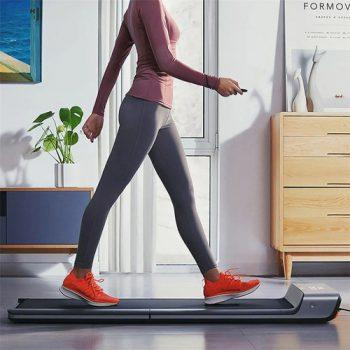 [EU DIRECT - PL] Xiaomi Mijia Smart Folding Walking Machine Non-slip Sports Treadmill Manual Automatic Modes Gym Fitness Equipment LED Display Connected with Mi Home App - Silver Gray