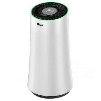 [EU DIRECT - EU] Aiibot A500 Air Purifier 4-stage Filter with LED Touch Screen and Mode Switch for Inhalable Particles, Pollen, Dust, Bacteria, Mold, Formaldehyde - White