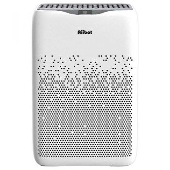 [EU DIRECT - EU] Aiibot EPI188 Dual Filter Air Purifier 4-stage Filter 99.97% Filtration Efficiency for Inhalable Particles, Pollen, Dust, Bacteria, Mold, Formaldehyde - White