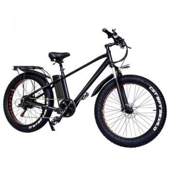 [EU WAREHOUSE - EU] CMACEWHEEL KS26 Plus Electric Moped Bicycle 26 x 4 Inch Fat Tire Three Modes 750W Motor Max Speed 45km/h 24AH Battery Up To 100km Range Disc Brake - Black
