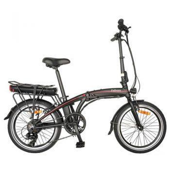[EU WAREHOUSE - PL] Fafrees 20F039 20 Inch Folding Electric Bike 250W Motor 7-Speed Gears Removable 10AH Battery Aluminum Alloy Frame LED Headlamp Black