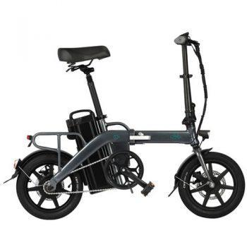 [EU WAREHOUSE - PL] FIIDO L3 Folding Electric Moped Bike City Bike Commuter Bike 48V 350W 23.2Ah Lithium Battery 14 inch Max 25km/h 130Km Max Mileage Long Distance - Grey