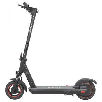"""[EU DIRECT - EU] KUGOO G1 Folding Electric Scooter 10"""" Tire 500W Motor Max Speed 40km/h Max 40km Range 13Ah Battery BMS LCD Display Front Drum Brake Rear E-Brake LED Light Support NFC Card Built-in 4-Digit Combination Chain Lock - Black"""