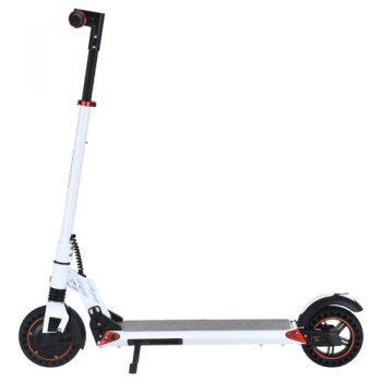 [EU DIRECT - PL] KUGOO S1 Plus 8 inch Folding Electric Scooter 350W Motor 7.5Ah Clear LCD Display Screen Max 30km/h 3 Speed Modes Max Range up to 25km Easy Folding - White