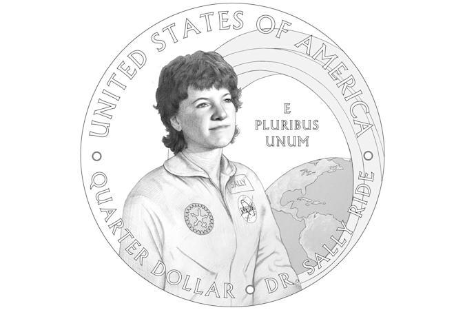 Pioneering astronaut Sally Ride will appear on a limited-run US quarter